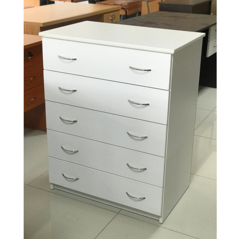 impact chest of 5 drawers melamine